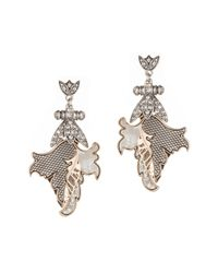 Lulu Frost | Metallic Nightshade Statement Earring | Lyst