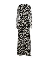 MICHAEL Michael Kors - Black Long Dress - Lyst