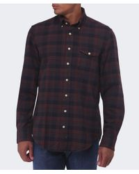Gant | Brown Merrick Oxford Check Shirt for Men | Lyst