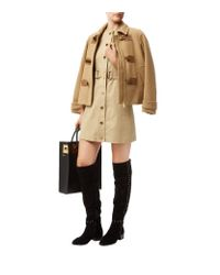 MICHAEL Michael Kors - Natural Belted Sleeveless Trench Dress - Lyst