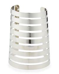 R.j. Graziano | Metallic Silver Gladiator Cuff | Lyst