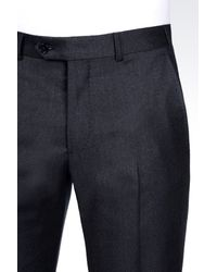 Armani | Blue Trousers In Cashmere Wool for Men | Lyst