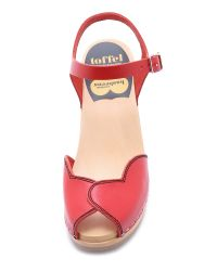 Swedish Hasbeens - Heart High Sandals - Red - Lyst
