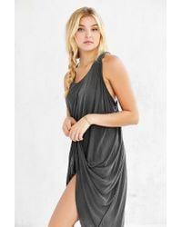 Truly Madly Deeply | Gray Open-seam High/low Dress | Lyst