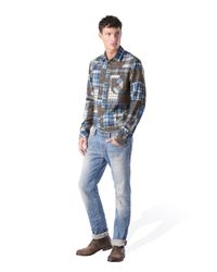 DIESEL | Brown D-kallien for Men | Lyst