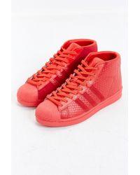 Adidas | Red Originals Pro Model Snake Sneaker for Men | Lyst