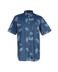 Anerkjendt | Blue Shirt for Men | Lyst