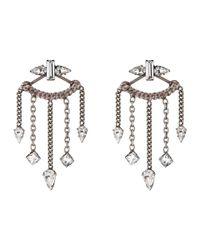 DANNIJO | Metallic Coley Earrings | Lyst