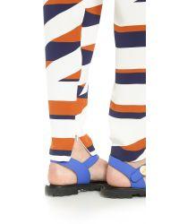 KENZO | Brown Z Stripes Pants - Tobacco | Lyst