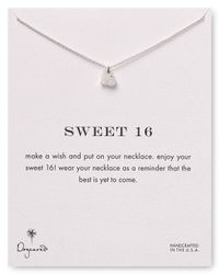 Dogeared - Metallic Sweet 16 Necklace 18 - Lyst