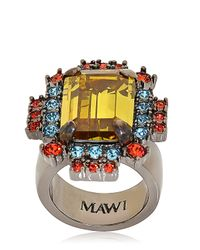"Mawi | Metallic ""barbarella"" Collection Ring 