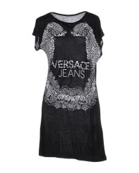 Versace Jeans | Black T-shirt | Lyst
