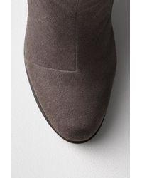 Rag & Bone | Gray Moto Rain Boots | Lyst