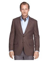 Brooks Brothers - Brown Madison Fit Tic Sport Coat for Men - Lyst