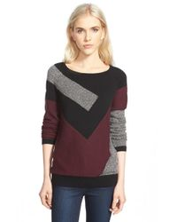 Trouvé - Gray Abstract Pattern Sweater - Lyst