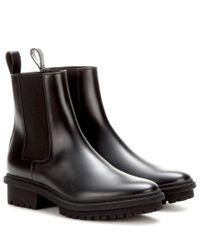 Balenciaga - Black Leather Boots - Lyst