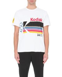 Opening Ceremony | White Kodak Logo Jserey-cotton T-shirt for Men | Lyst