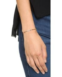 Shashi - Blue Sam Bracelet - Red - Lyst