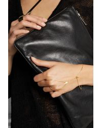 Maria Black - Metallic D'Arling Gold-Plated Finger Bracelet - Lyst