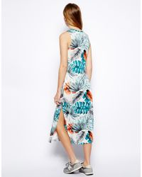Brave Soul - Multicolor Hawaii Midi Dress - Lyst