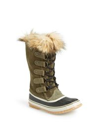 Sorel | Green Joan Of Arctic Snow Boots | Lyst
