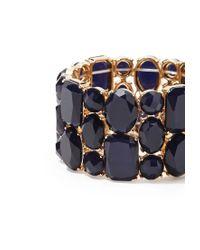 Forever 21 | Blue Faux Stone Bracelet | Lyst