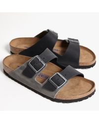 James Perse - Black Birkenstock Arizona Sandal - Mens for Men - Lyst