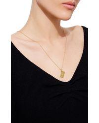 Sidney Garber | Metallic 18k Yellow Gold Love Letter Envelope Necklace | Lyst
