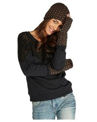 Threads For Thought - Multicolor Star Print Fingerless Gloves - Lyst
