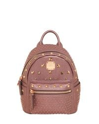 MCM - Pink Extra Mini Bebe Boo Special Backpack - Lyst