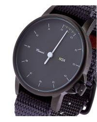 Miansai - Purple Webbing Strap Watch for Men - Lyst