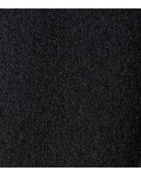 Ferragamo - Black Cashmere Cape With Scarf - Lyst