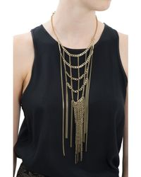 Jenny Bird | Metallic Hoppers Weave Necklace | Lyst
