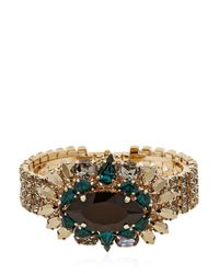 Anton Heunis - Green Bollywood Princess Collection Bracelet - Lyst
