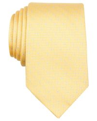 Perry Ellis - Yellow Davy Dot Tie for Men - Lyst
