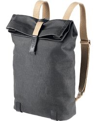 Brooks | Black Pickwick Canvas Roll-top Backpack for Men | Lyst