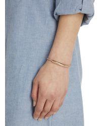 Monica Vinader - Pink Esencia 18kt Rose Gold-plated Bracelet - Lyst