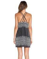 Parker - Black Barnet Beaded Dress - Lyst