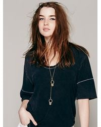 Free People | Metallic Seaworthy Womens Blissery Lari | Lyst