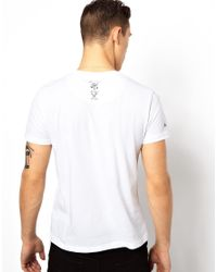 Rock Revival - White Xmas Girl Tshirt for Men - Lyst