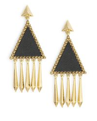 House of Harlow 1960 | Metallic Del Sol Chandelier Earring | Lyst