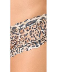 Hanky Panky - Brown After Midnight Leopard Nouveau Open Hipster - Lyst