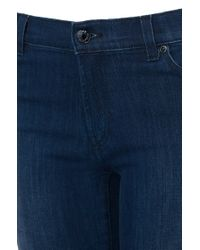 HUGO - Blue Super-skinny-fit Cotton-blend Jeans: 'georgina' - Lyst