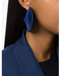 Vojd Studios | Blue 'phase' Earrings | Lyst
