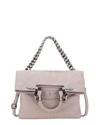 Elliott Lucca | Brown 'iara' 4-in-1 Leather Foldover Tote | Lyst