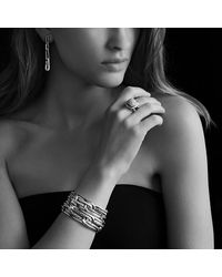 David Yurman | Metallic Labyrinth Link Bracelet | Lyst