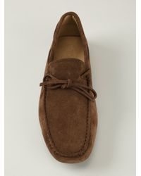 Tod's - Brown Classic Driving Shoes for Men - Lyst
