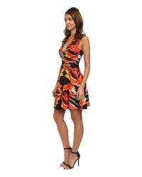 Just Cavalli - Multicolor Cocktail Dress W/ Hardware - Lyst