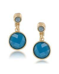 Carolee | Bayou Blues Duo Drop Earrings | Lyst