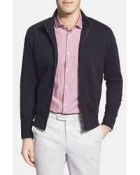 Billy Reid | Blue Track Jacket for Men | Lyst